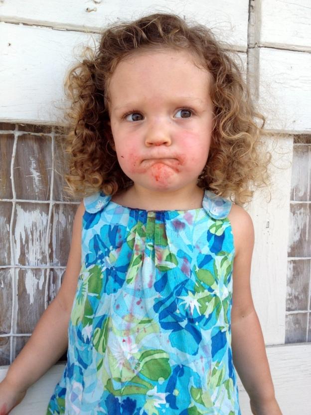 thrivebaby strawberryface