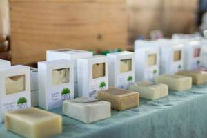 Thrive Handcrafts at a craft show